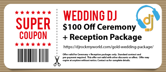 $100 Off Gold Package - DJ Rock My World.com