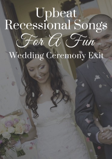 upbeat fun recessional songs for your wedding dj rock my world. Black Bedroom Furniture Sets. Home Design Ideas