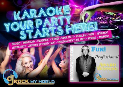 Karaoke DJ Rock My World
