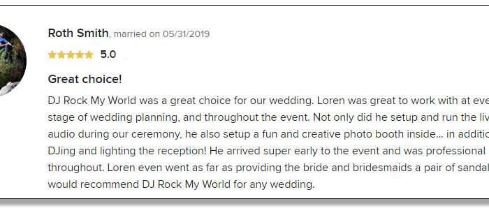 Roth's Review of DJ Rock My World.com
